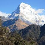 Annapurna, einer der vielen über 8'000 Meter hohen Berge.