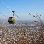 Von hier aus hat man eine super Aussicht über Salta und das Lerma-Tal