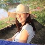 Friedliche Stunden am Mekong