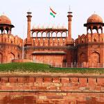 Das Fort von Delhi
