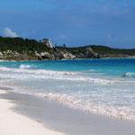 Besiedelt seit ungefähr 1200, war Tulum im 13. und 14. Jahrhundert eine der größten Städte der Halbinsel Yucatan.