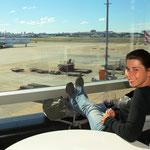Einstimmung auf unseren langen Flug über den Pazifik. Gesponsert von LAN-Airlines! :)