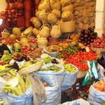 Beim Markt in Sucre
