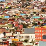 Ankunft nach einer entspannten Fahrt in Valparaiso.