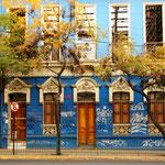 Häuser in Santiago