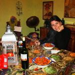 Im Hostal. Selber kochen ist wieder angesagt. Billig ist es in Chile leider nicht!