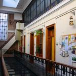 Unsere Schule ganz in der Nähe der Plaza de Mayo, die Academia Buenos Aires.