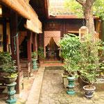 Ein altes vietnamesisches Wohnhaus