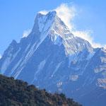 Der Machhapuchhre ist wahrscheinlich der schönste Berg in der Annapurna Region