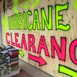 Rina kommt!! 2006 hat ein Hurrikan hier gewaltige Schäden angerichtet.