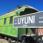 Uyuni - Ankunft nach einer langen Berg und Tal Fahrt