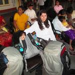 Unsere Reise begann um 2 Uhr Morgens an einem Bahnhof in Goa