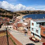 An der Copacabana am Titicacasee