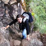 Aufstieg zum Huayna Picchu