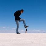 Salar de Uyuni - Riesenfranziska