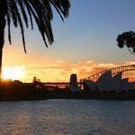 Abendstimmung Sydney