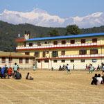 Ein Tibetisches Flüchtlingslager. Viele Tibeter flüchteten nach dem Einmarsch der Chinesen nach Nepal