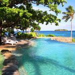 Unser Pool auf Treasure Island