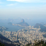 Rio vom Corcovado aus gesehen.