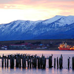 Am Abend in Puerto Natales