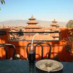 Eine nepalesische Spezialität, Momo's! Die Dinger machen süchtig.