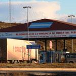 Grenzposten Chile/Argentinien irgendwo auf Feuerland