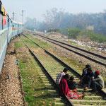 Fahrt nach Delhi
