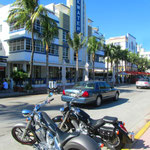Miami Beach am Ocean Drive