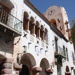 Humahuaca, die 1594 gegründete Stadt im Kolonialstil, die der Schlucht ihren Namen gab und auf fast 3000 Metern Höhe liegt. Foto: Cabildo de Humahuaca. Das Rathaus des Ortes.