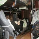 Ein Nachtbus in Vietnam