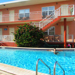 Motel Pool in Madeira Beach