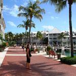 Key West. Die Stadt befindet sich am Westende der Florida Keys.