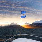Wunderschöne Bootstour bei rauher See auf dem Beagle-Kanal