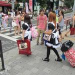 Schräge Mode in Tokyo