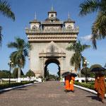 Die Hauptstadt - Vientiane