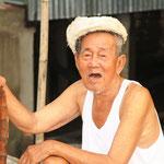 Im Dorf am Mekong