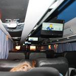 Busfahrt von Puerto Iguazu nach Salta (24 Stunden)