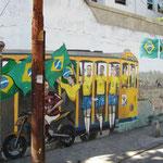 Wandmalereien in Santa Teresa