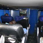 Unsere Luxusfahrt von Mendoza nach Puerto Madryn