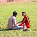 Ein indisches Liebespärchen