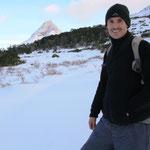 Schneeschuhwanderung in Ushuaia