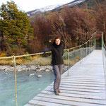 Unterwegs zum Gletscher Grey