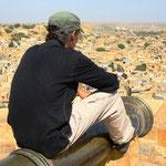Jaisalmer mit Blick auf die Stadt
