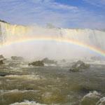 Zum Abschluss noch mit einem schönen Regenbogen