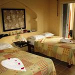 Unser schönes Zimmer in Playa del Carmen, Sahara Hotel.