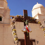 Die Kirche von Tilcara, Quebrada de Humahuaca