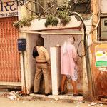 Ein typisches Bild in indischen Städten
