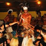 Coole Tanzvorführung der Einwohner Rapa Nui's