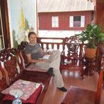 Unsere Unterkunft in Luang Prabang für sehr wenig Geld