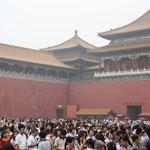 Man ist wirklich nie allein in China